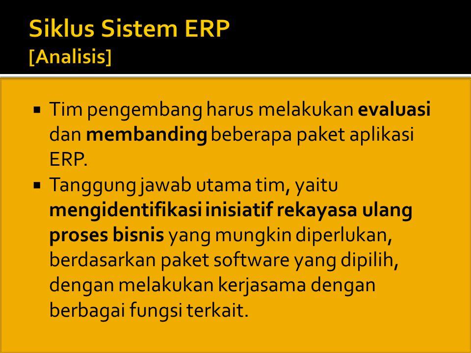 Siklus Sistem ERP [Analisis]